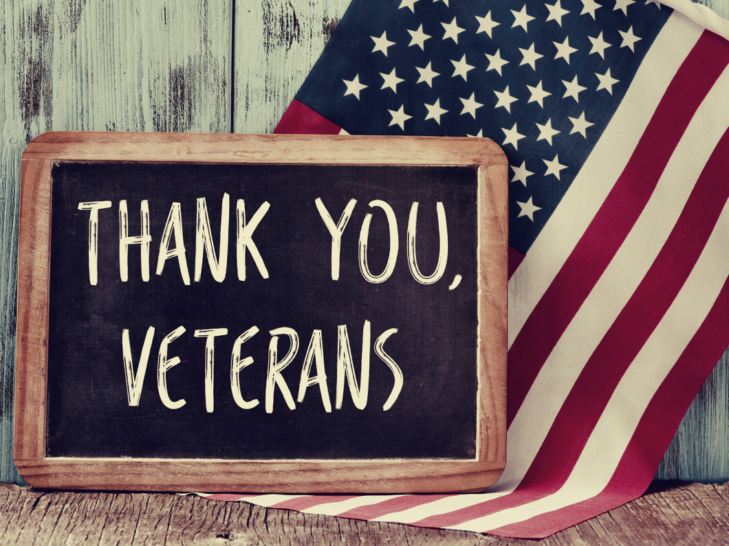 We provide a 10% discounts on all of our services to Veterans as a thank you for their service.